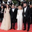 Stacy Martin (Robe Dior Haute-Couture), Tahar Rahim, Marie Monge et Karim Leklou - Montée des marches du film «Le Grand Bain» lors du 71ème Festival International du Film de Cannes. Le 13 mai 2018 © Borde-Jacovides-Moreau/Bestimage