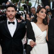 Tahar Rahim et Leïla Bekhti: les jeunes parents rayonnent à Cannes