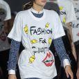 """Sara Sampaio lors du défilé de mode """"Fashion For Relief"""" lors du 71ème Festival International du Film de Cannes, France, le 13 mai 2018 © Cyril Moreau/Bestimage"""