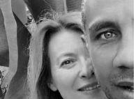 """Valérie Trierweiler, """"heureuse"""" : Selfie complice avec Romain Magellan..."""
