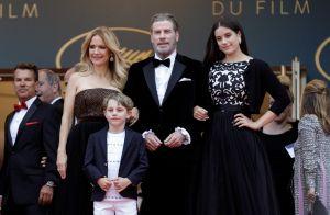 John Travolta et Kelly Preston : Divins avec leurs enfants Ella Bleu et Benjamin