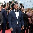"""50 Cent (Curtis James Jackson) - Montée des marches du film """"'Solo: A Star Wars Story' """" lors du 71ème Festival International du Film de Cannes le 15 mai 2018. © Jacovides/Borde/Moreau/Bestimage"""