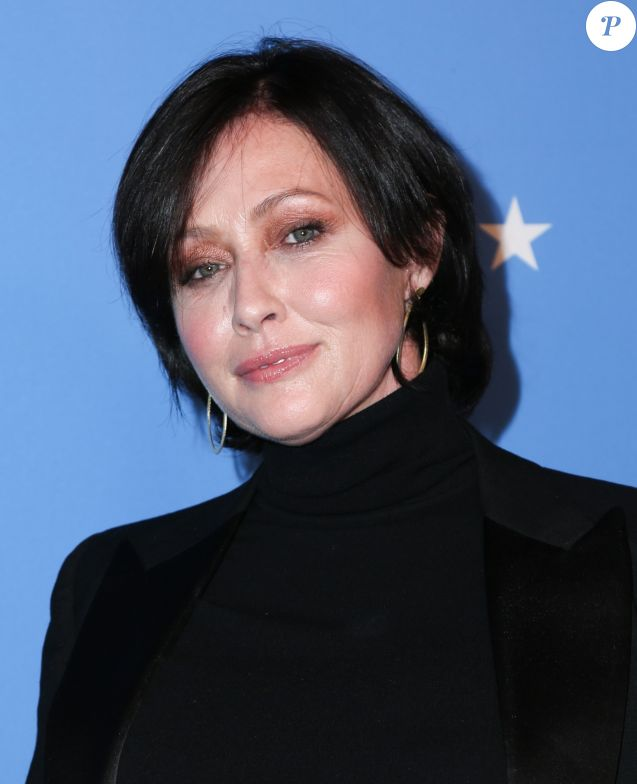 Shannen Doherty - Soirée Paramount Network à l'hôtel Sunset Tower à Los Angeles, le 18 janvier 2018.