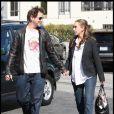 Jennifer Love-Hewitt et Jamie Kennedy se rendent à un déjeuner plus in love que jamais