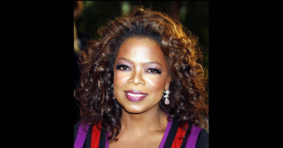 La présentatrice américaine Oprah Winfrey - Purepeople