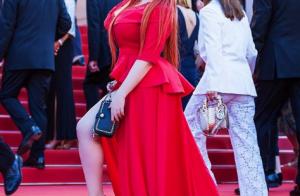 Cannes 2018 : Un mannequin XXL se retrouve en culotte sur le tapis rouge