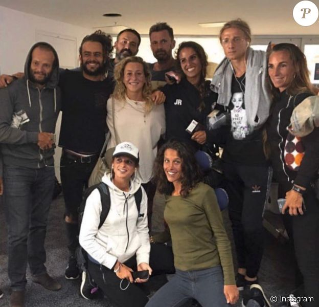 """Les aventuriers de """"Koh-Lanta : Le combat des héros"""" (TF1) réunis sur Instagram."""