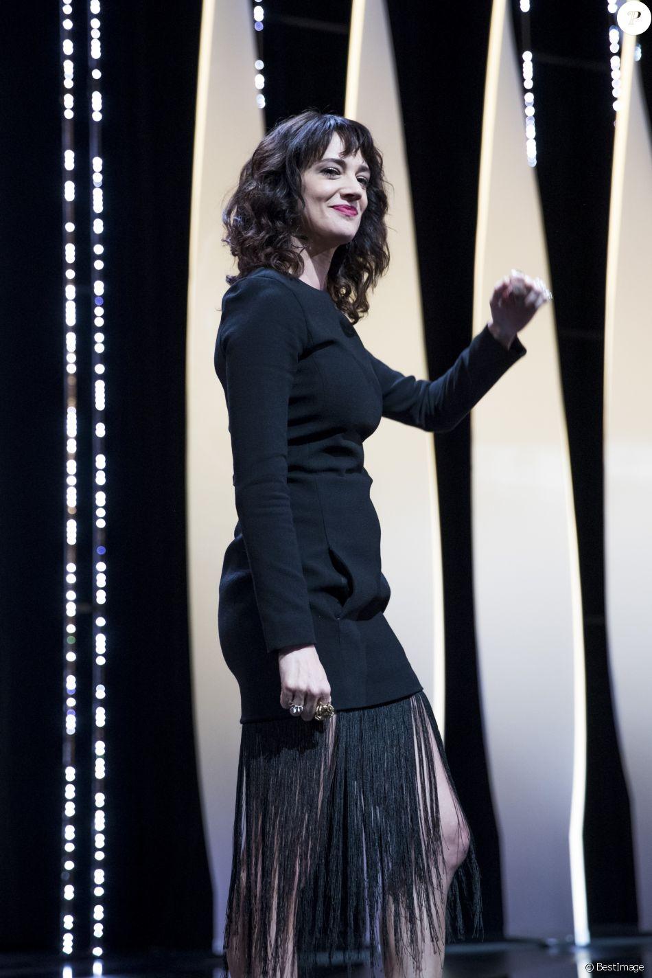 Asia Argento - Cérémonie de clôture du 71ème Festival International du Film de Cannes le 19 mai 2018. © Borde / Moreau / Bestimage