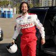 Adrien Brody lors de la journée d'entraînement pour la 33e course annuelle Toyota en Californie