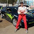 Eric Close lors de la journée d'entraînement pour la 33e course annuelle Toyota en Californie