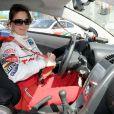 Mary Lynn Rajskub lors de la journée d'entraînement pour la 33e course annuelle Toyota en Californie