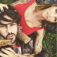 Gabano et Julia Peredes sur Instagram, mai 2018.