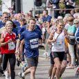 """Le prince Frederik de Danemark participe au """"Royal Run"""", organisée pour ses 50 ans à Aalborg, Danemark, le 21 mai 2018. Pour les 50 ans du prince héritier Frederik de Danemark, des courses étaient organisées dans les 5 grandes villes du pays.21/05/2018 - Odense"""
