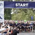 """La princesse Mary de Danemark participe au """"Royal Run"""", organisée pour ses 50 ans à Aalborg, Danemark, le 21 mai 2018. Pour les 50 ans du prince héritier Frederik de Danemark, des courses étaient organisées dans les 5 grandes villes du pays.21/05/2018 - Odense"""