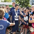 """Le prince Frederik de Danemark participe au """"Royal Run"""", organisée pour ses 50 ans à Aalborg, Danemark, le 21 mai 2018. Pour les 50 ans du prince héritier Frederik de Danemark, des courses étaient organisées dans les 5 grandes villes du pays.21/05/2018 - Aalborg"""