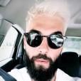 Benoît Paire change de tête et devient blond platine. Instagram, mai 2018.
