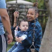 Janet Jackson : Maman tendre avec son fils, l'adorable Eissa