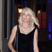 Alice Taglioni blonde platine et Pamela Anderson très décolletée pour un dîner