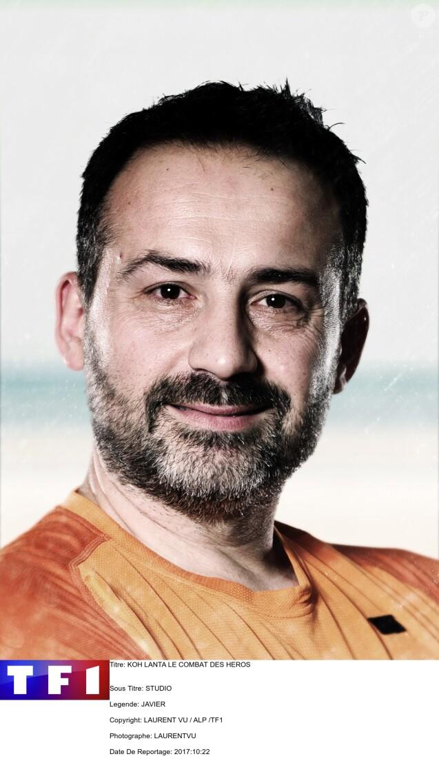 """Javier, photo officielle de """"Koh-Lanta All Stars'"""