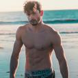 Malik, le petit ami de Camille Cerf  - Instagram, février 2018