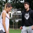 Camille Cerf et son petit ami Malik - Instagram, février 2018