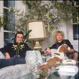 ARCHIVES - DICK RIVERS ET SA FEMME - RENDEZ VOUS EN 1988 00/08/1988 -