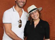 Shirley Bousquet enceinte : L'actrice radieuse à Roland-Garros !