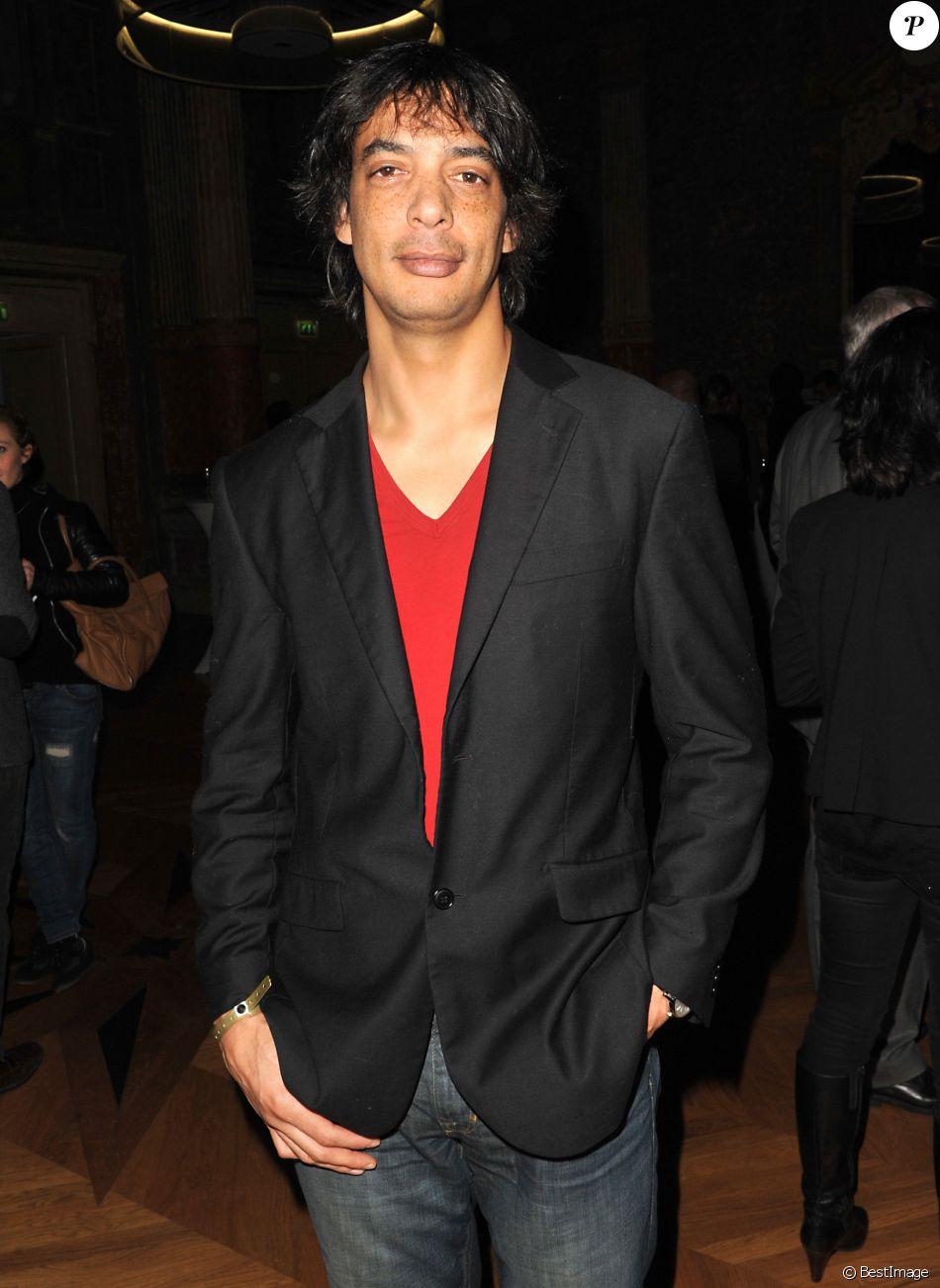 Georges-Alain Jones (Star Academy 2) - Exclusif - La chaine MCS (Ma Chaine Sport) fete son 5eme anniversaire a la Gaite Lyrique a Paris le 17 Decembre 2012.