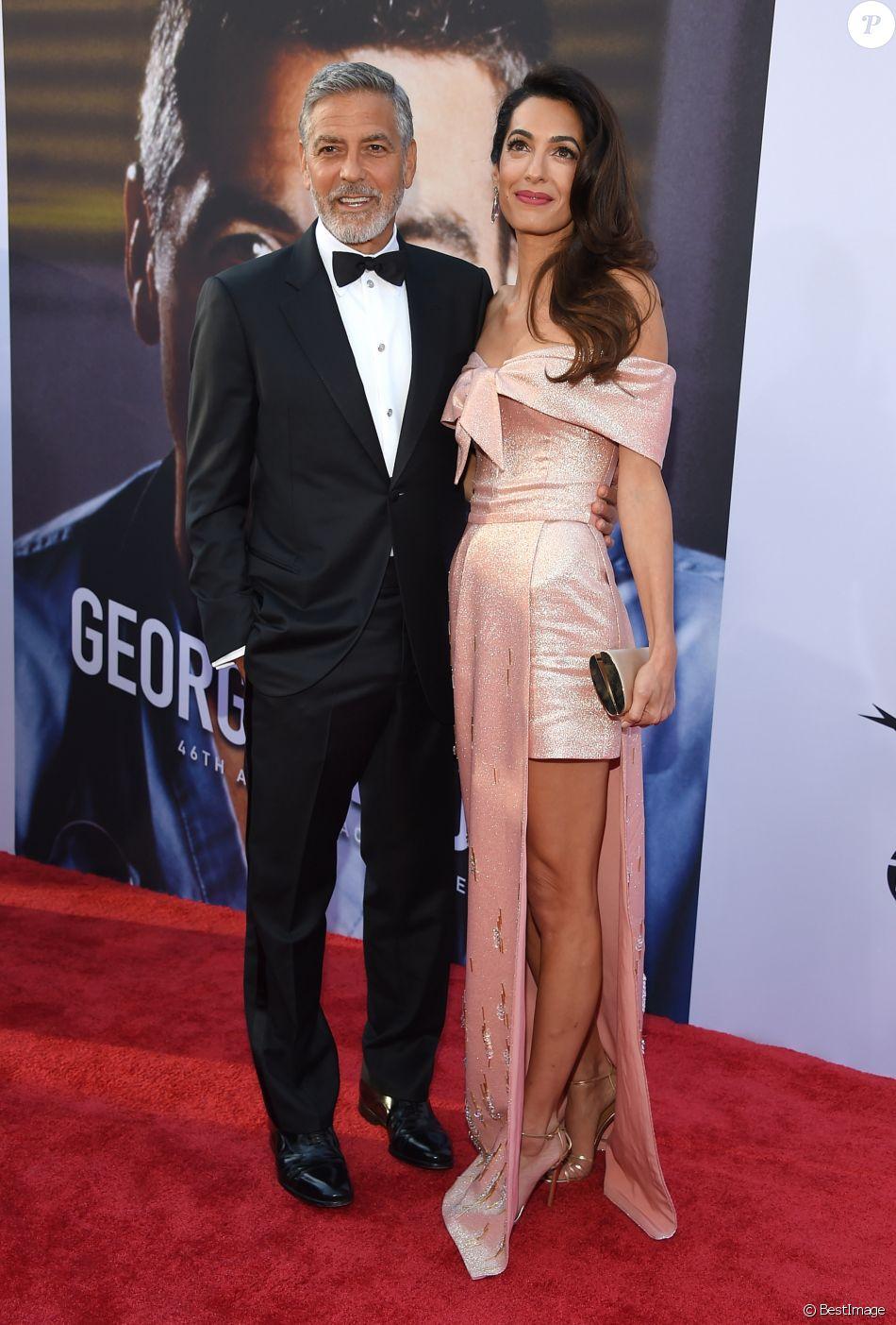 Amal Clooney Fait Pleurer Son Mari George Avec Une Sublime
