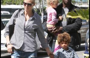 Heidi Klum : son papa va mieux, elle danse en plein Central Park avec sa famille ! Regardez ! (réactualisé)