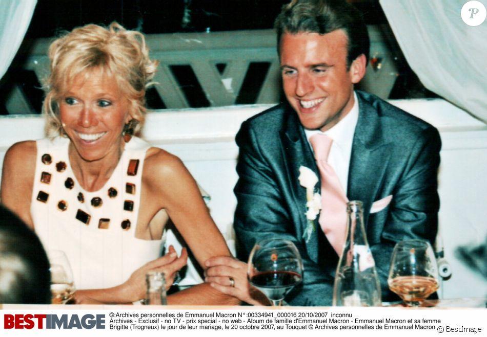 Exclusif , Album de famille d\u0026039;Emmanuel Macron , Emmanuel Macron et sa