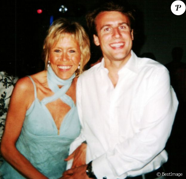 Exclusif - Album de famille d'Emmanuel Macron - Emmanuel Macron et sa femme Brigitte Macron © Archives personnelles de Emmanuel Macron