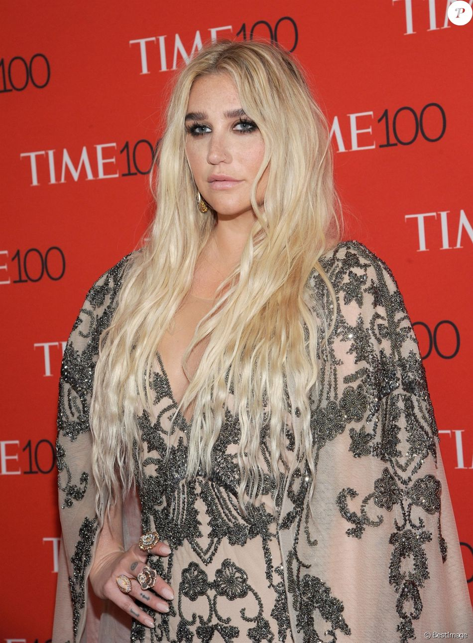 Kesha - Photocall de la soirée 2018 Time 100 Gala au Frederick P. Rose Hall à New York, le 24 avril 2018