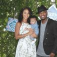 Ne-Yo, sa femme Crystal Renay et leur fils Shaffer aux Teen Choice Awards 2016 à Los Angeles le 31 juillet 2016.