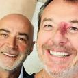 Jean-Luc Reichmann et Patrick Bosso - Instagram, 12 juin 2018