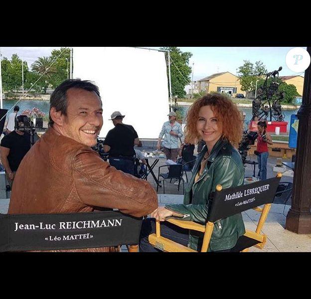 Jean-Luc Reichmann et Mathilde Lebrequier - Instagram, 15 juin 2018