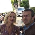Jean-Luc Reichmann, Rebecca Hampton, Cyrille Eldin - Instagram, 5 juin 2018