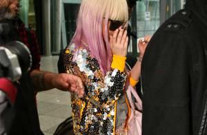 Lady GaGa : elle ne porte rien en bas, mais elle met le paquet en haut !