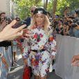 Rita Ora - People a la sortie du défilé de mode Dior Homme collection Printemps-Eté 2019 à la Garde Républicaine lors de la fashion week à Paris, le 23 juin 2018.