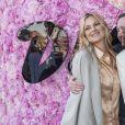 Kate Moss, Kim Jones (directeur artistique de Dior Homme), Naomi Campbell - Greeting au défilé de mode Dior Homme collection Printemps-Eté 2019 à la Garde Républicaine lors de la fashion week à Paris, le 23 juin 2018. © Olivier Borde/Bestimage