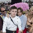 Brooklyn Beckham et Victoria Beckham - People au défilé de mode Dior Homme collection Printemps-Eté 2019 à la Garde Républicaine lors de la fashion week à Paris, le 23 juin 2018. © Olivier Borde/Bestimage
