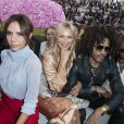 Victoria Beckham, Kate Moss, Lenny Kravitz et Naomi Campbell - People au défilé de mode Dior Homme collection Printemps-Eté 2019 à la Garde Républicaine lors de la fashion week à Paris, le 23 juin 2018. © Olivier Borde/Bestimage