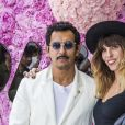Haider Ackermann et Lou Doillon - Photocall du défilé de mode Dior Homme collection Printemps-Eté 2019 à la Garde Républicaine lors de la fashion week à Paris, le 23 juin 2018. © Olivier Borde/Bestimage