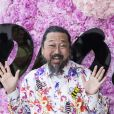 Takashi Murakami - Photocall du défilé de mode Dior Homme collection Printemps-Eté 2019 à la Garde Républicaine lors de la fashion week à Paris, le 23 juin 2018. © Olivier Borde/Bestimage