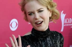Quand Nicole Kidman se met... à la boisson ! Oui, c'est vrai !