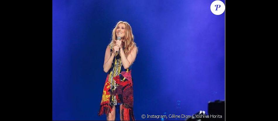 Céline Dion sur scène à Tokyo le 26 juin 2018