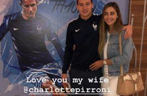 Mondial 2018 : Florian Thauvin et Charlotte Pirroni, le grand amour à Istra