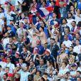 Ambiance supporters lors de France-Argentine en 8e de finale de la Coupe du monde de football le 30 juin 2018 à Kazan en Russie. © Cyril Moreau/Bestimage