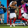 Kylian Mbappé lors de France-Argentine en 8e de finale de la Coupe du monde de football le 30 juin 2018 à Kazan en Russie. © Cyril Moreau/Bestimage