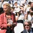 Bernard Kouchner et sa femme Christine Ockrent - Cérémonie d'entrée de Simone Veil et de son époux Antoine Veil au Panthéon à Paris le 1er juillet 2018 © Hamilton / Pool / Bestimage